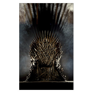 Game of Thrones. Размер: 25 х 40 см